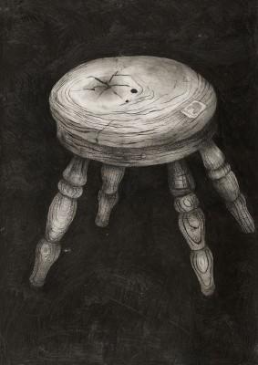 Priceless - Wooden Stool