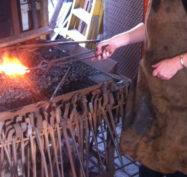 Learning to use the forge